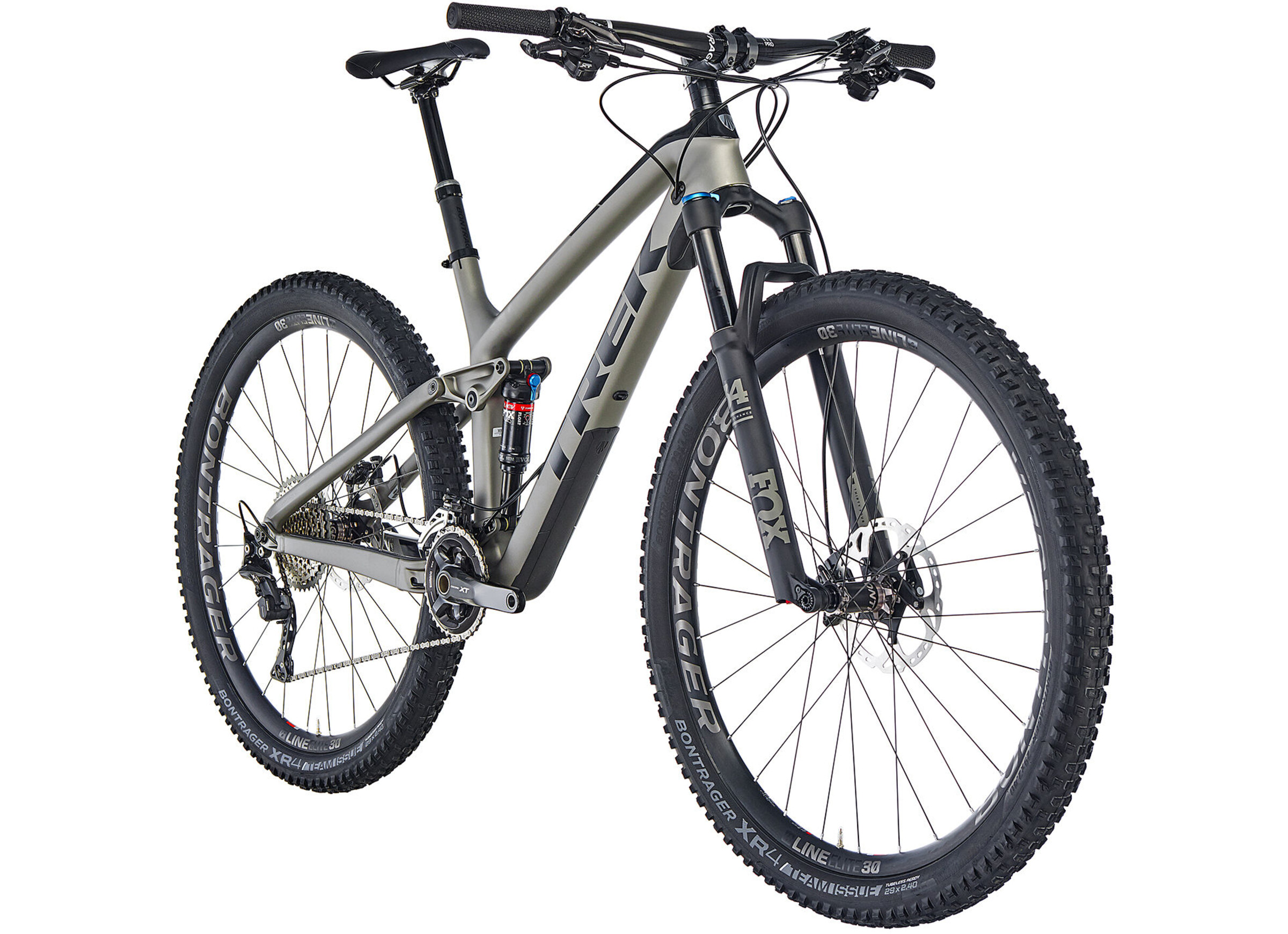 Trek Fuel EX 9.8 XT 29 matte metallic gunmetal/gloss black online ...